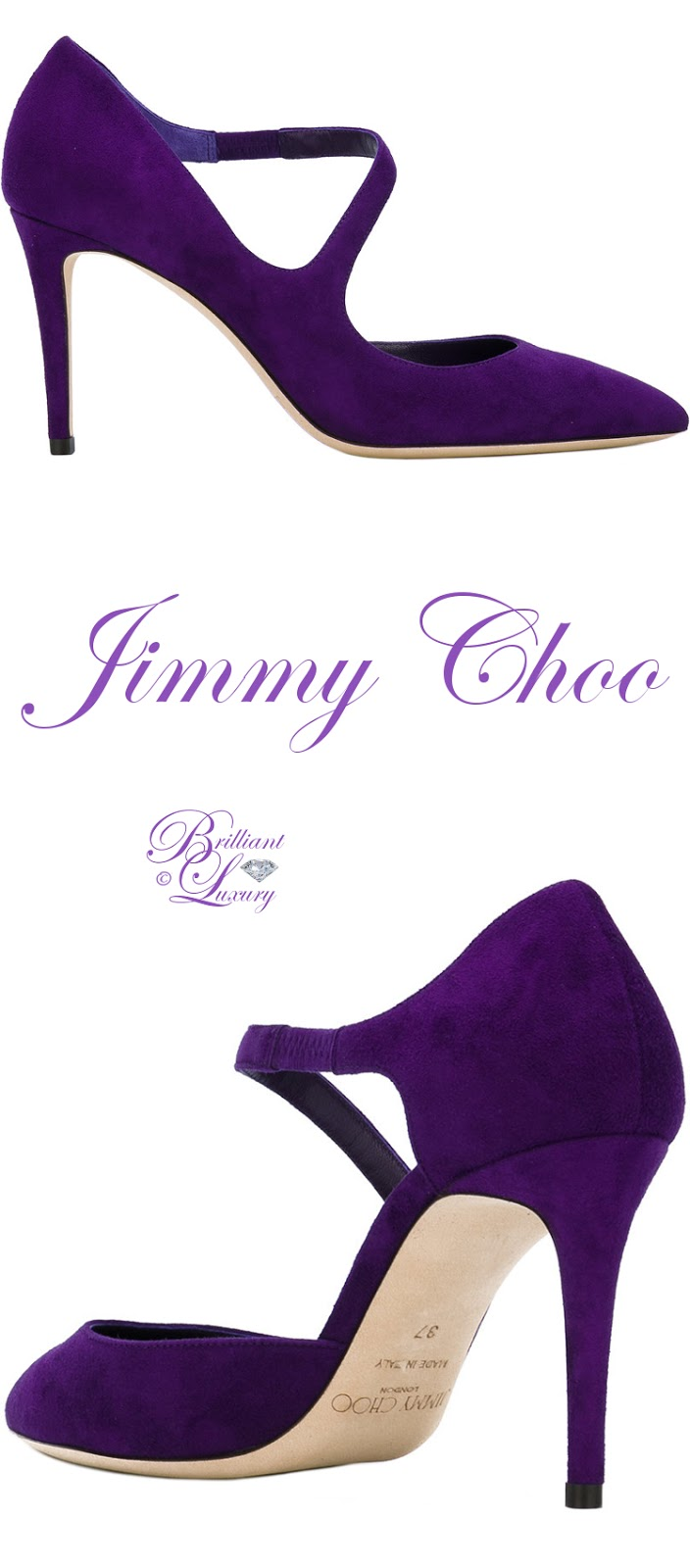 Brilliant Luxury ♦ Jimmy Choo Davos Pumps