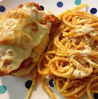 Chicken Parmesan Cresents (Nailed It)