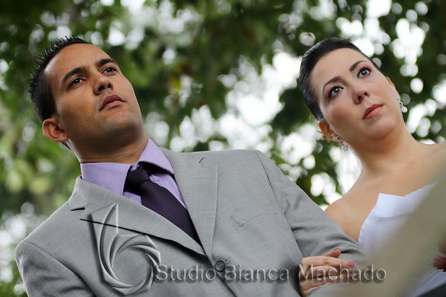 fotos de noivos em sitio