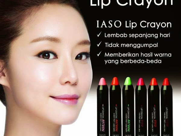 [Review] IASO Natural Lip Crayon in #N02 Pretty Peach