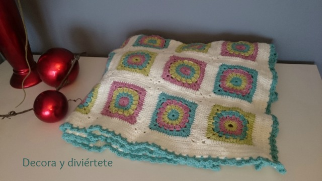 crochet , ganchillo , lana , plaid , manta , granny , decoración , manualidades , DIY