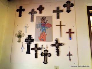 crosses in the sanctuary, Dodge City