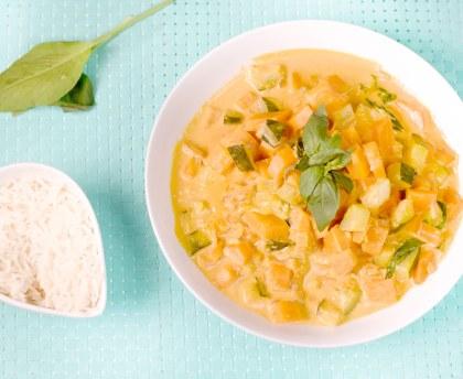 Vegetarian vegetable curry