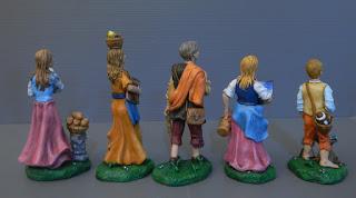 regali personalizzati statuine papà mamma figli nel presepio orme magiche