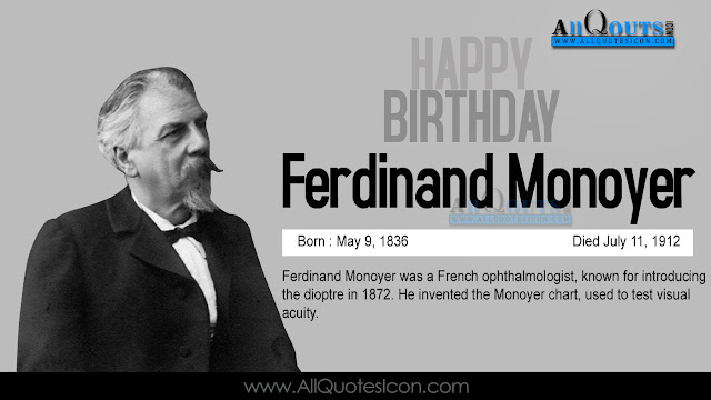 English-Ferdinand-Monoyer-Birthday-English-quotes-Whatsapp-images-Facebook-pictures-wallpapers-photos-greetings-Thought-Sayings-free