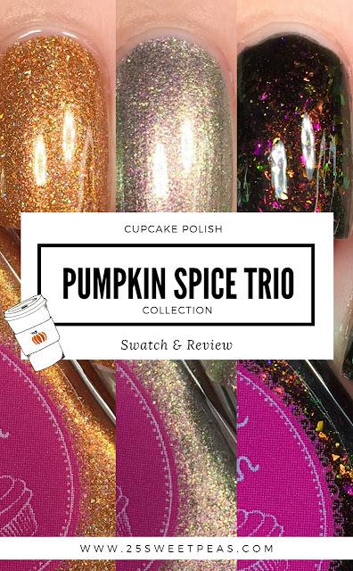 Cupcake Polish Pumpkin Spice Trio