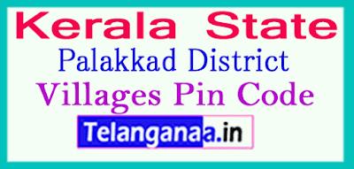 Palakkad District Pin Codes in Kerala State