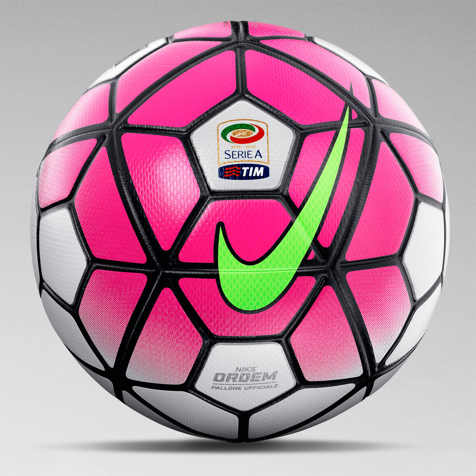 white pink nike ordem serie a 15 16 ball released footy headlines. Black Bedroom Furniture Sets. Home Design Ideas