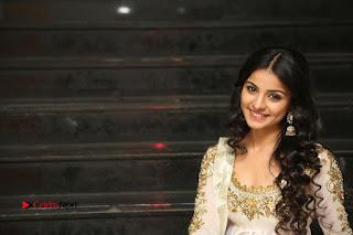Telugu Actress Mahima Makwana Stills in White Desginer Dress at Venkatapuram Movie Logo Launch  0260.JPG