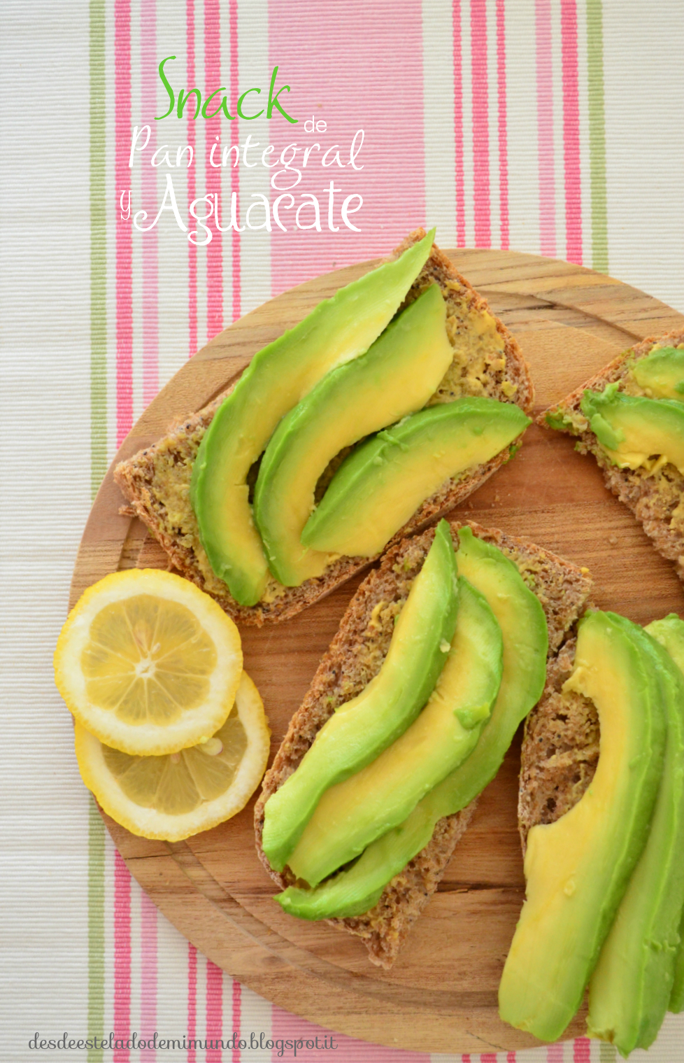 snack whole bread and avocado vegan
