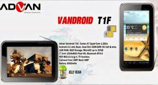 Cara Instal Ulang Advan Vandroid T1F Via PC - Mengatasi Bootloop