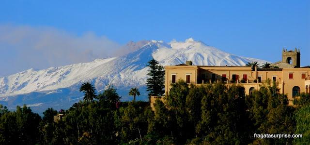 Vulcão Etna - Taormina - Sicília