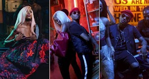 Photos From Tiwa Savage and Wizkid's 'Ma Lo' Video Shoot…