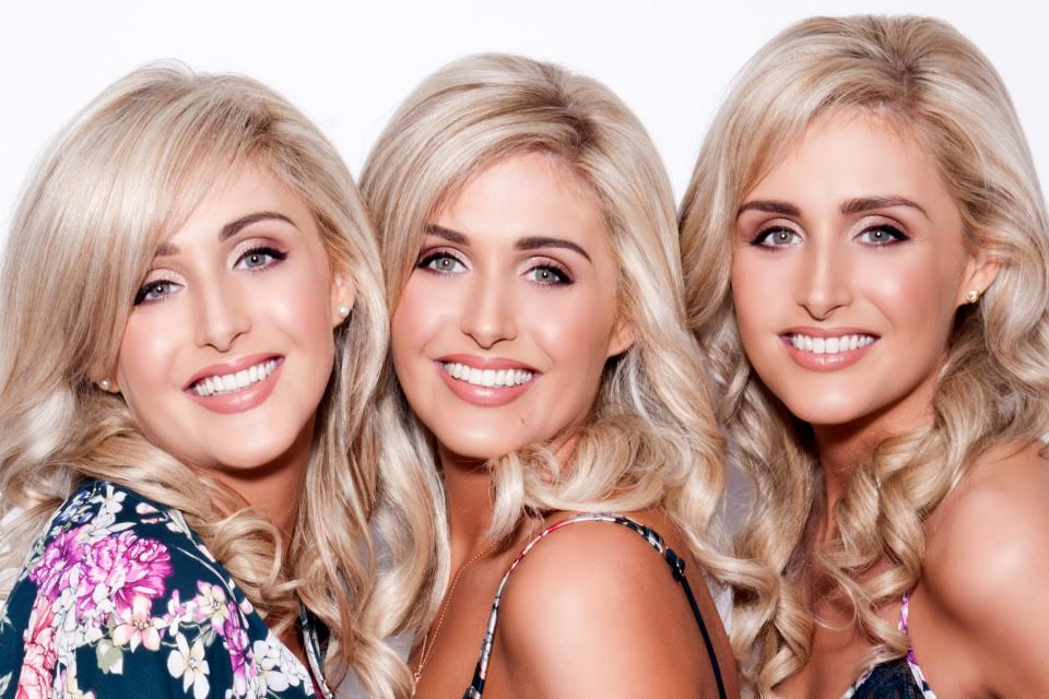 See stunning model photos of identical triplets