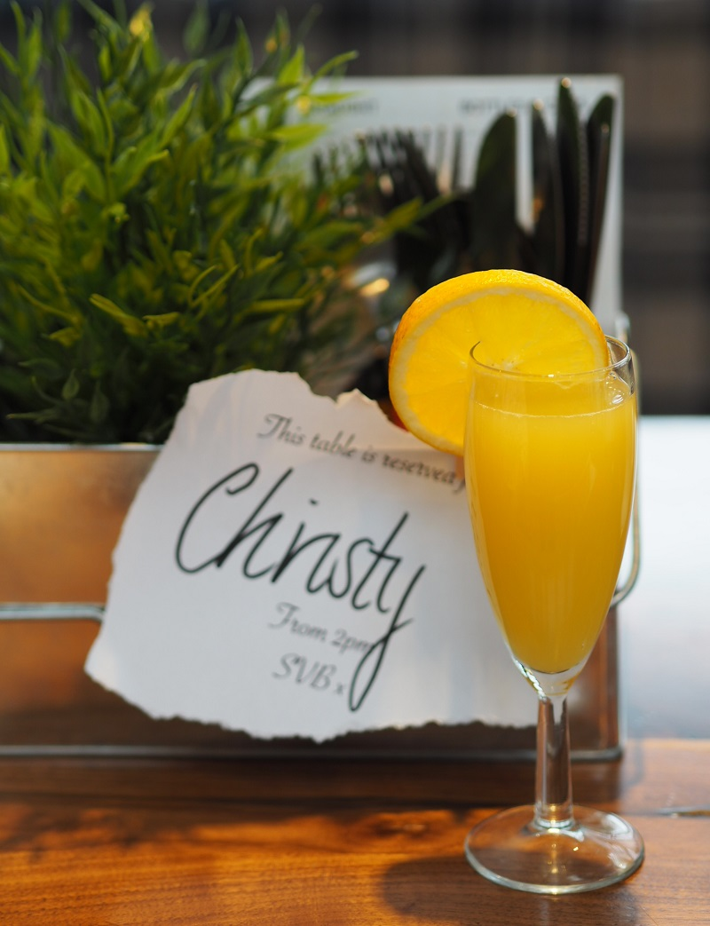 Mimosa at Siberia Big Bad Brunch Aberdeen