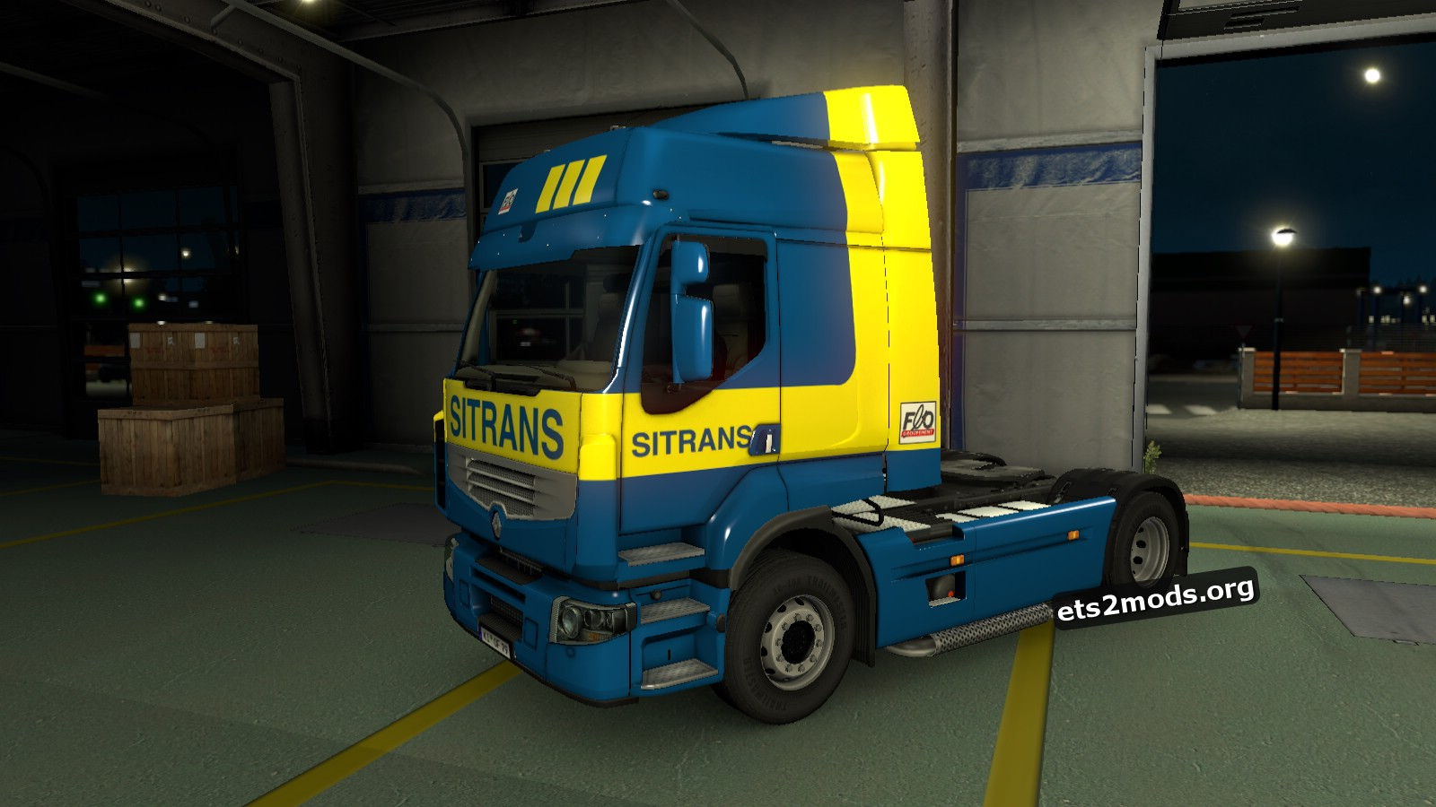 Sitrans Skin for Renault Premium