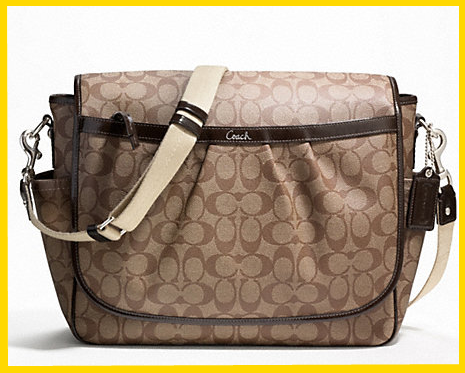 Mommy 2k Coach As A Baby Diaper Bag
