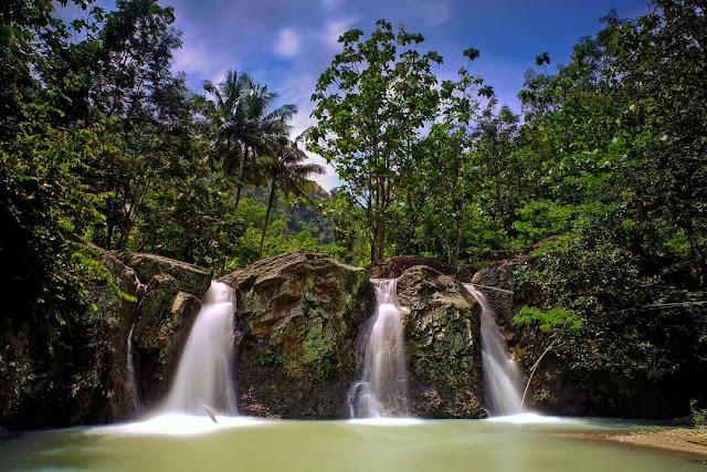Wisata air terjun di Jogja