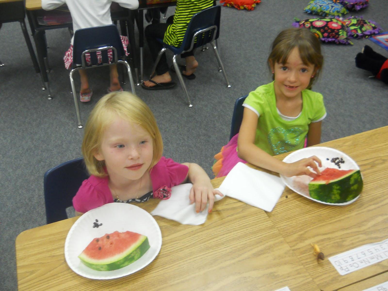 Mrs T S First Grade Class Watermelons