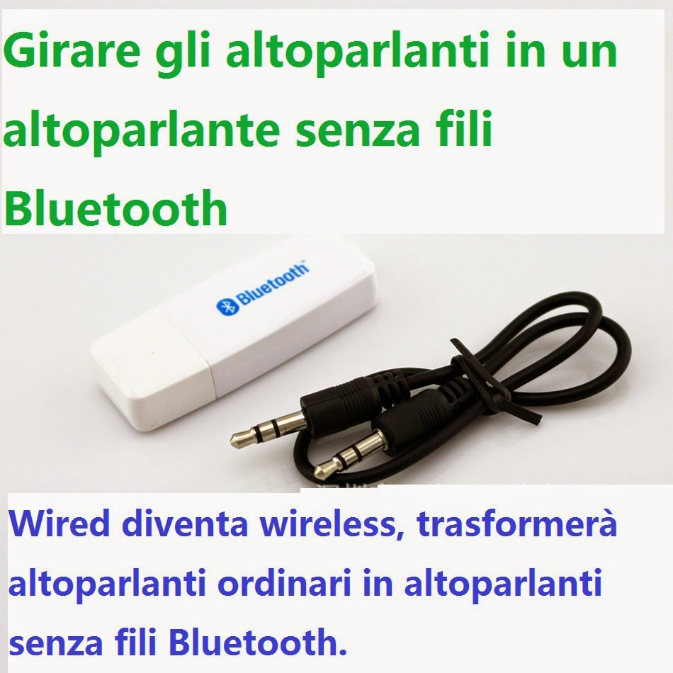 ADATTATORE USB BLUETOOTH WIRELESS