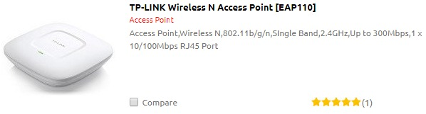 TP-LINK Wireless N Access Point [EAP110]
