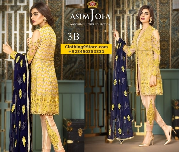Asim Jofa Latest Fall Winter Collection For Women