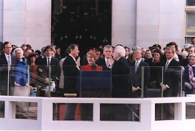President Reagan Inaugural Day