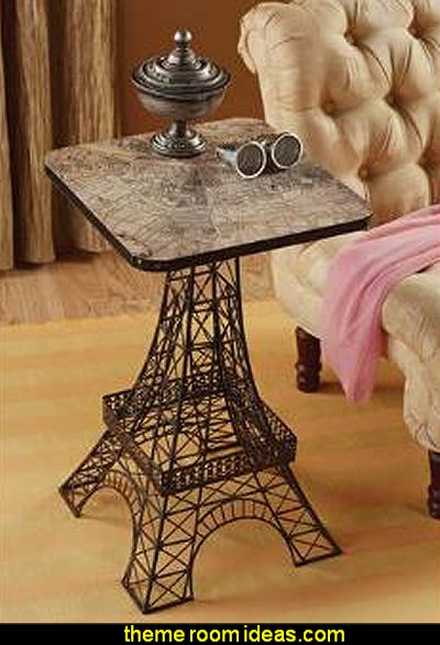 Tour Eiffel Sculptural Metal Side Table
