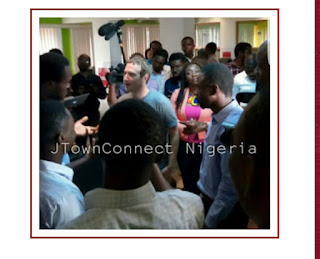 Facebook CEO, Mark Zuckerberg currently in Lagos, Nigeria (See pictures)
