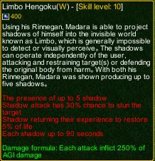 naruto castle defense 6.0 Rikudo madara Limbo Hengoku detail