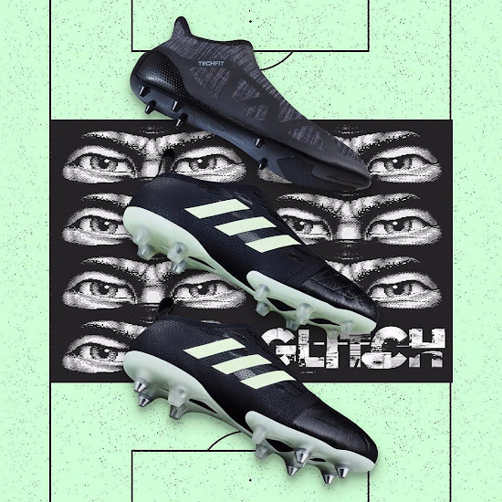 c5ee565ce0b Florescent Adidas Glitch Leather Nocturnal Boots Skin Released ...