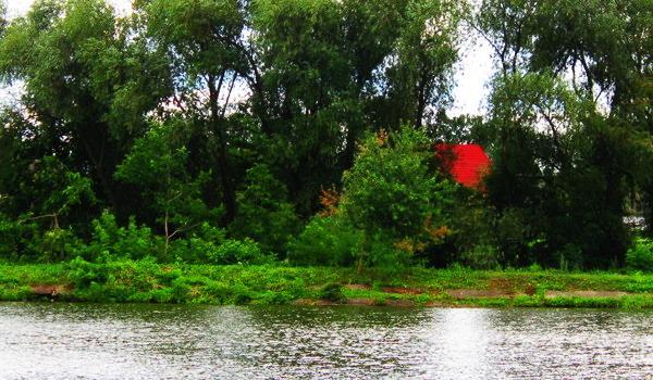 Beautiful lake of Lanivtsi in Ukraine