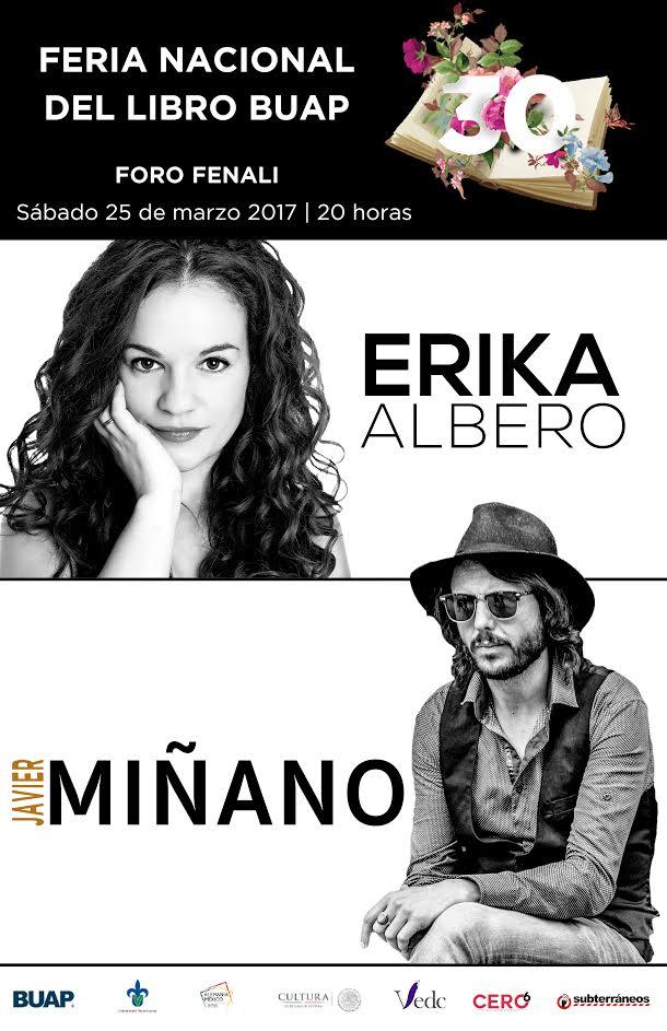 Erika Albero y Javier Miñano en Puebla