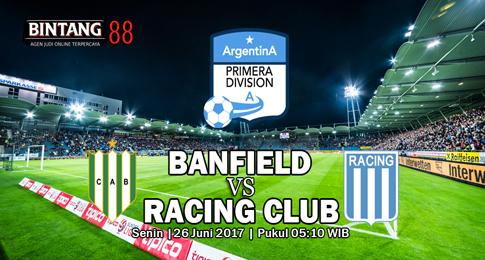 Prediksi Skor Banfield vs Racing Club  26 Juni 2017