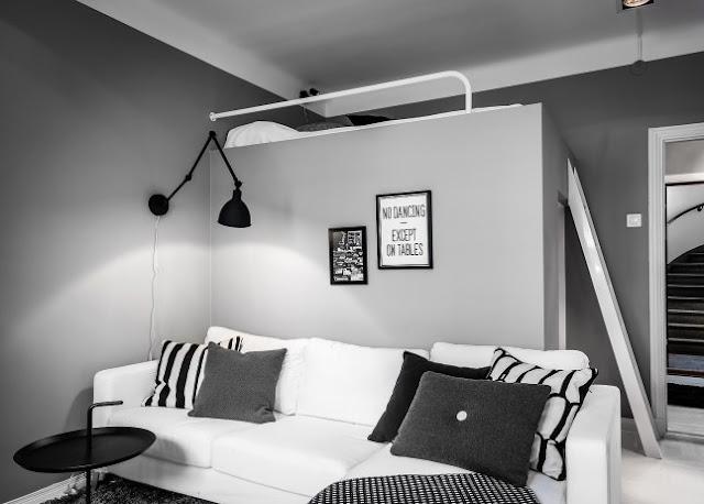 Amenajare practică într-o garsonieră de 29 m²