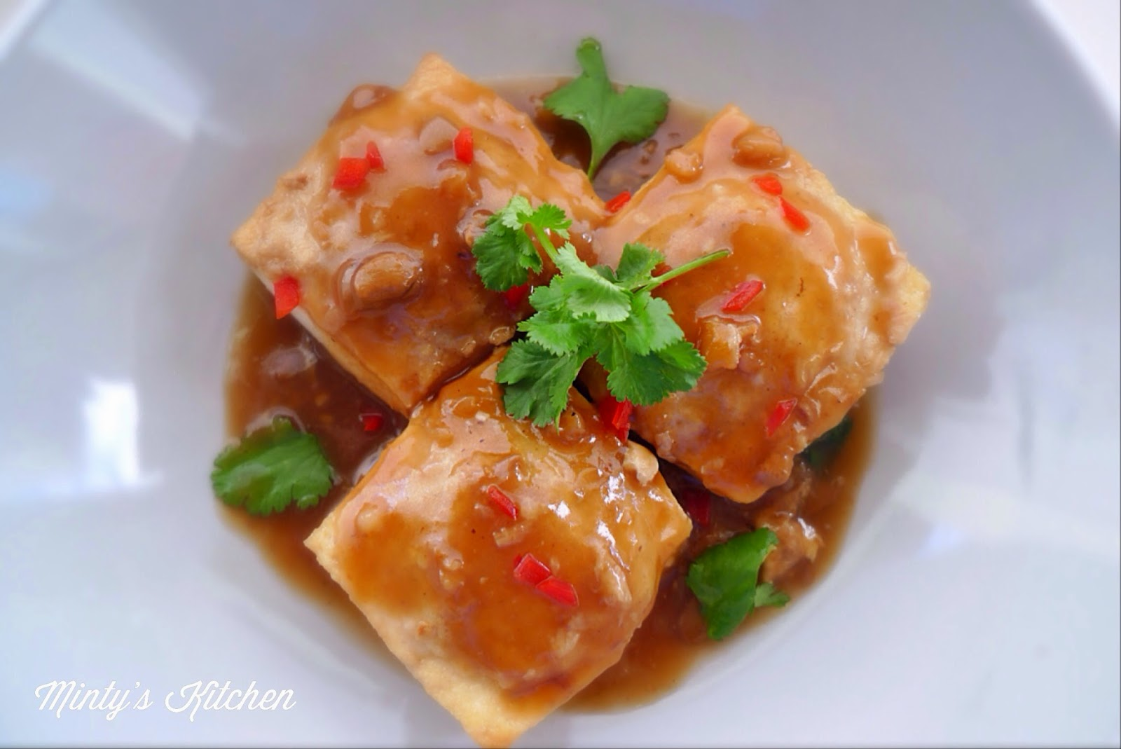 Stuffed Tofu  (客家酿豆腐)