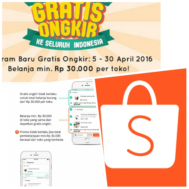 free ongkir di shopee co id