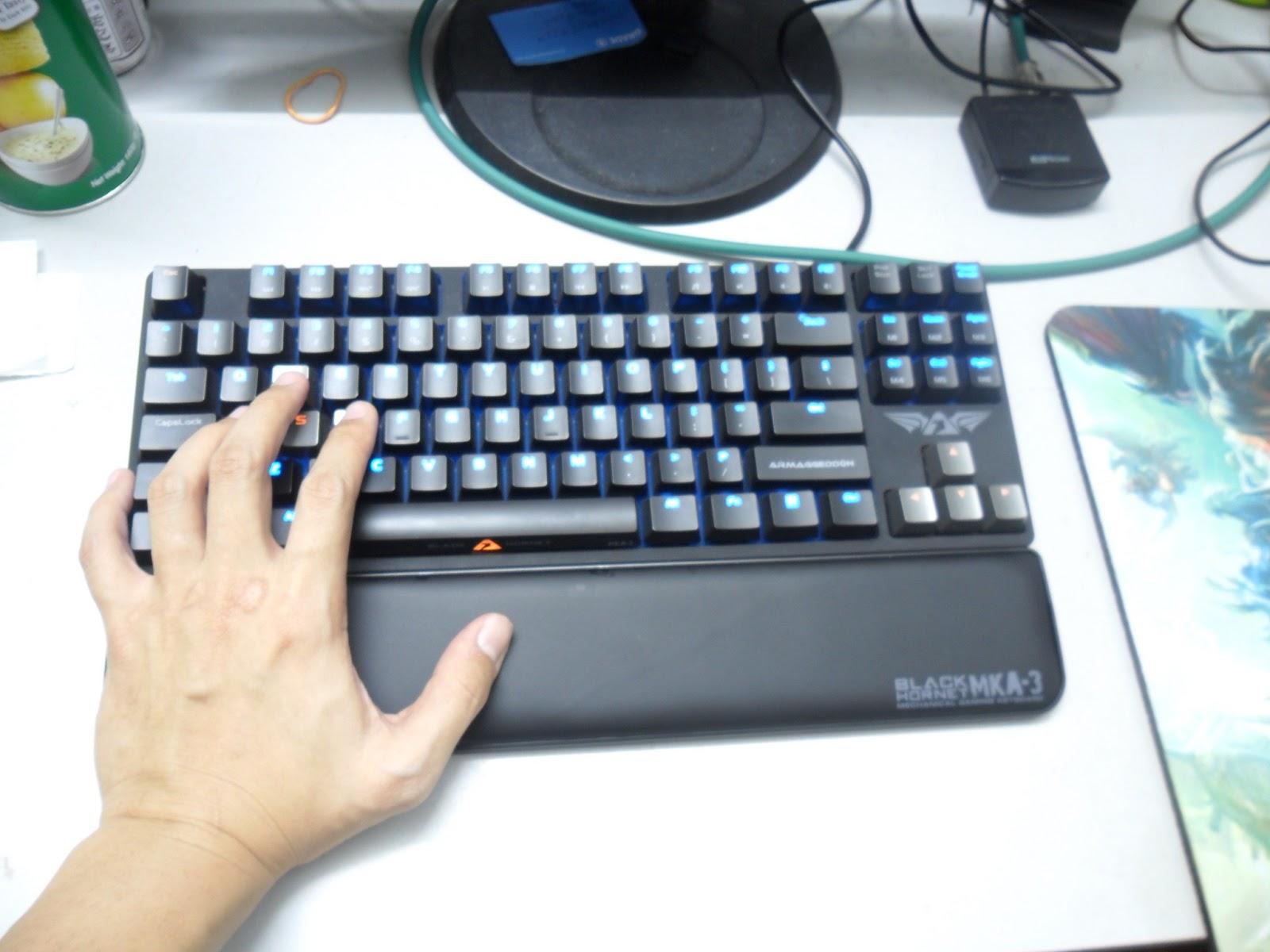 Unboxing & Review: Armaggeddon Black Hornet MKA-3 Mechanical Gaming Keyboard 23