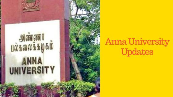 anna university updates news today