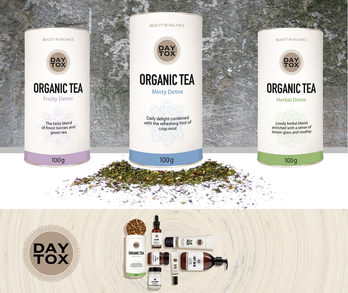 DATOX - BEAUTY in BALANCE all Teas overview