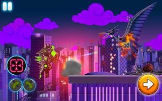 Dino Robot Wars: City Driving and Shooting Apk