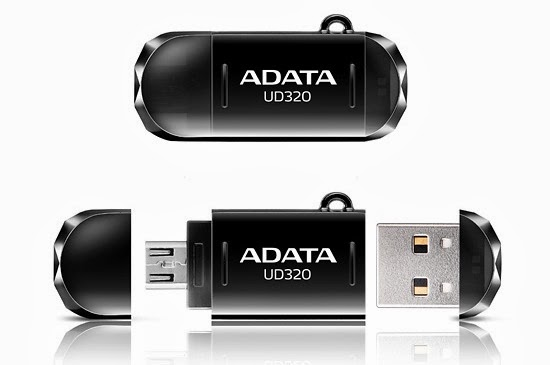 ADATA unveils durable UD320 USB OTG flash drive
