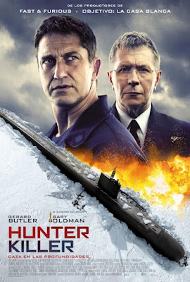 Hunter Killer 2018 DVD R1 NTSC Latino