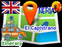 Nicosol, SL - Cómo llegar a la recepción de El Capistrano - en inglés