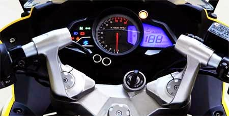 speedometer Bajaj Pulsar RS200