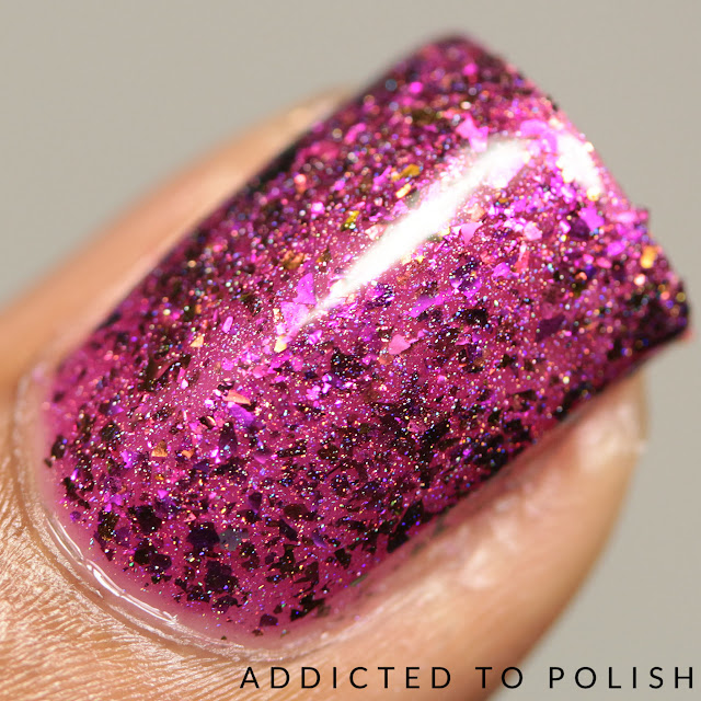 Top Shelf Lacquer Cranberry Moscow Mule