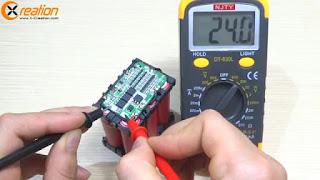 membuat sendiri baterai 24v rechargeable dari baterai laptop bekas