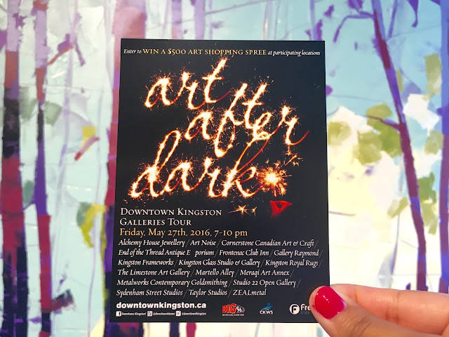 Art After Dark Downtown Kingston