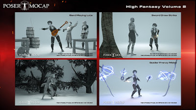 High Fantasy Volume 2 - Fantasy Animations for Genesis 3 and 8