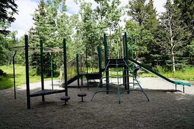Playground at Indian Graves Campground